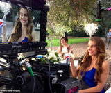 We saw two Sofia Vergaras as the actress filmed an ad for Pepsi. Source: Sofia Vergara on WhoSay