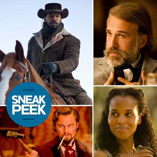 Django Unchained Sneak Peek: DiCaprio and Foxx Go Western