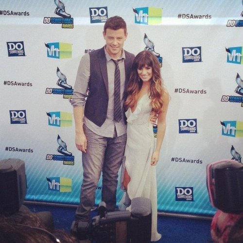 Lea Michele and Cory Monteith looked so sweet together at the Do Something Awards.