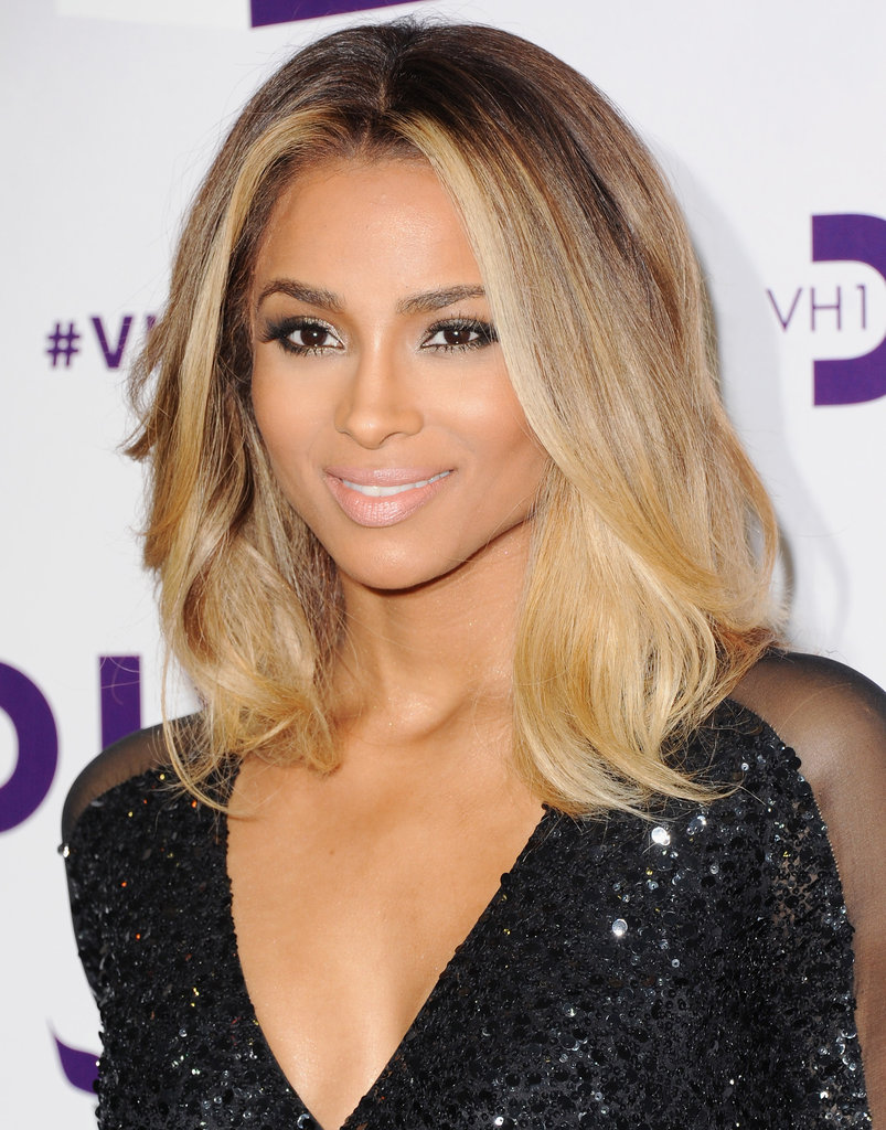 Ciara was one of the performers at the event.