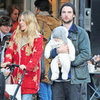 Sienna Miller and Tom Sturridge Show Marlowe Holiday Decor