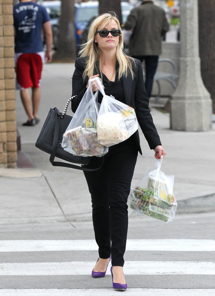 Reese Witherspoon Gets Into the Holiday Spirit With Jim and Deacon