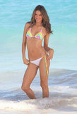 Alessandra Ambrosio stepped out in St. Barts.
