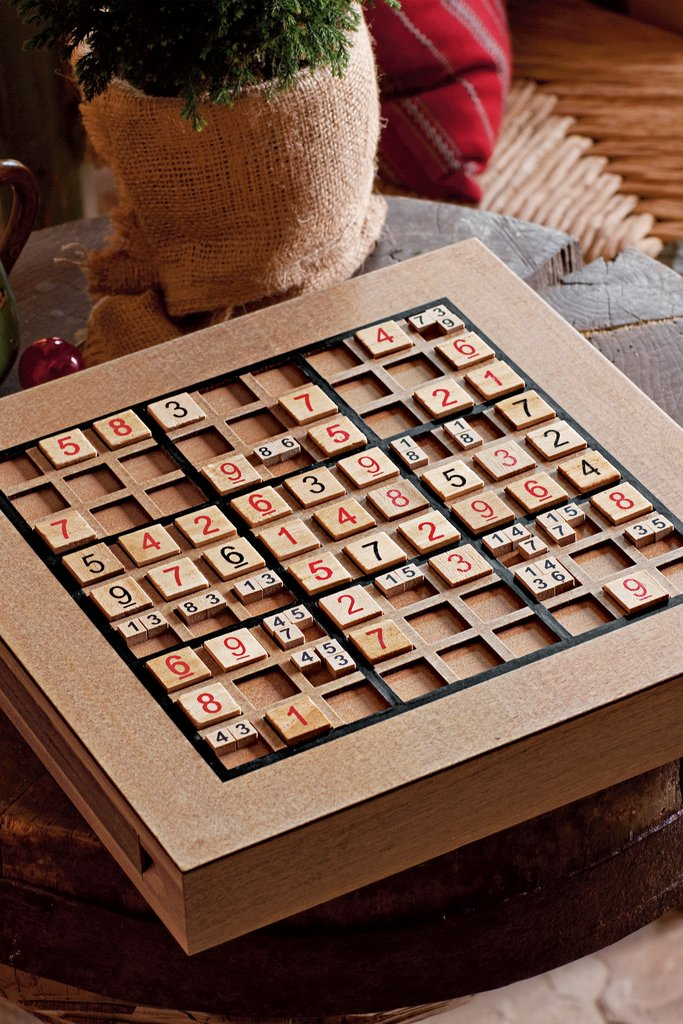 Is your dad a total numbers nerd? This wooden sudoku set ($30, originally $50) is perfect for the puzzle-obsessed.