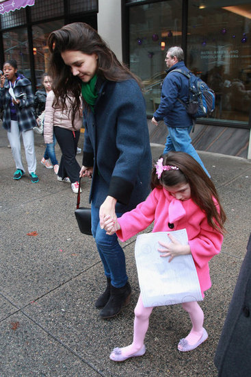 Katie Holmes Celebrates Her Birthday With Suri and Sweets