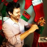 Ryan Seacrest stuffed his co-workers' stockings with food. Source: Twitter user RyanSeacrest