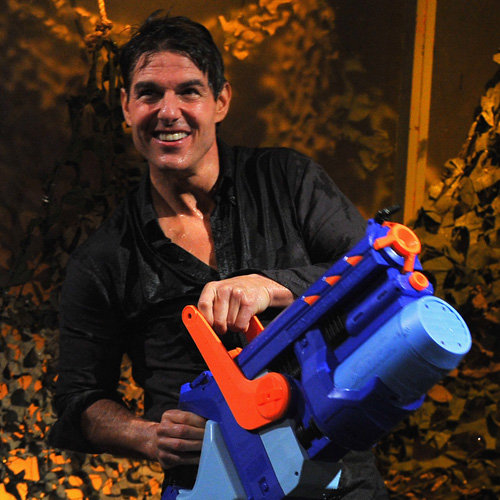 Tom Cruise and Jimmy Fallon's Water War | Pictures