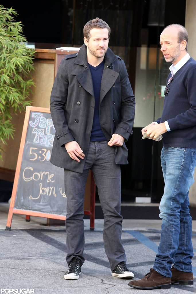 Ryan Reynolds Makes a Sexy Sushi Run in LA