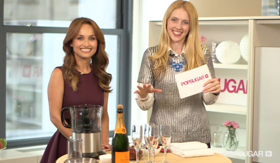 Video: Giada De Laurentiis Shares Holiday Health Tips — and a Perfect Cocktail Recipe!