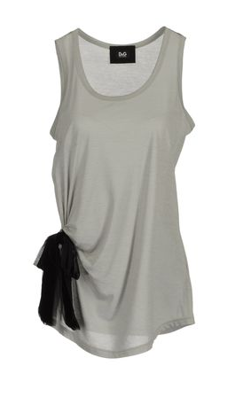 This D&G sleeveless bow tank ($175) is super versatile — use it as a layering tool during Winter, then pair it with denim cutoffs during Summer.