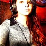 Ariel Winter took a break from Modern Family to hit up the recording studio. Source: Twitter user arielwinter