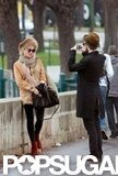 Tom Sturridge took a photo of Sienna Miller in Paris in December 2011.