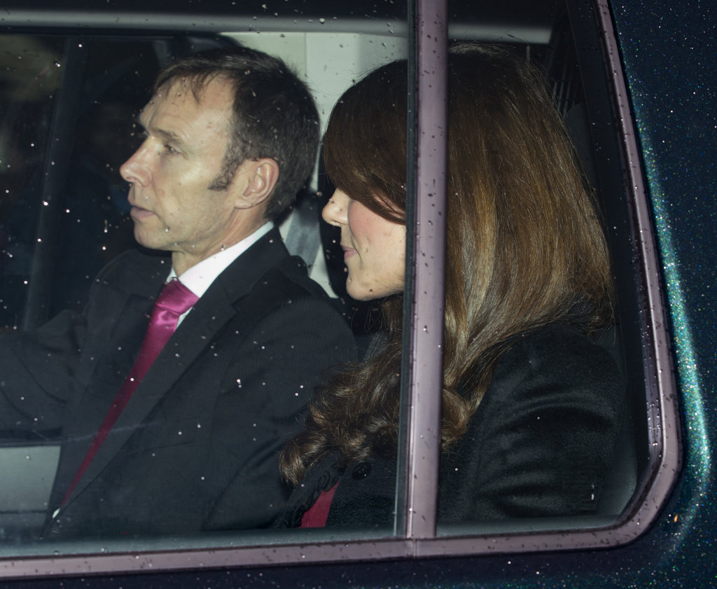Kate Middleton attended a Christmas lunch for the royal family.