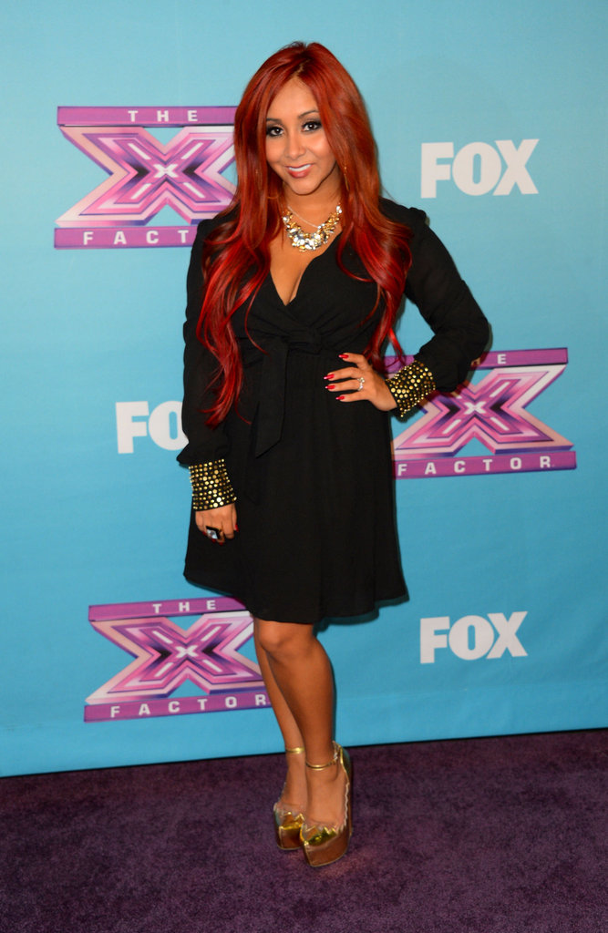 Snooki was a guest at the finale.