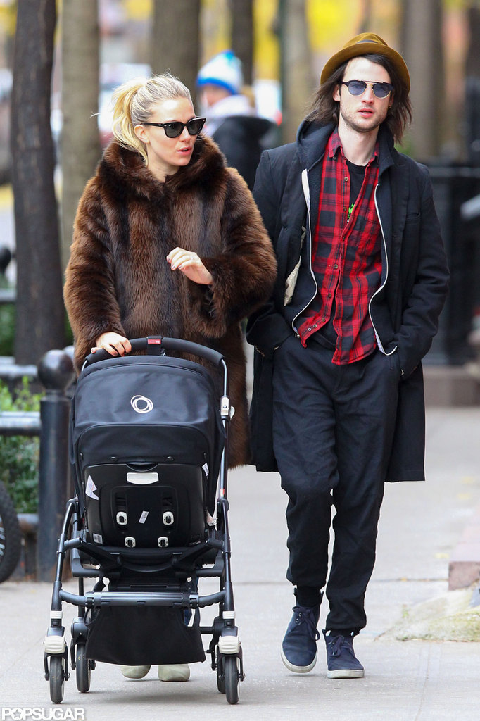 In November, Tom Sturridge and Sienna Miller took their daughter, Marlowe, out for a walk in NYC.