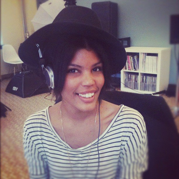 Because sometimes you want to wear your headphones and your wide-brimmed hat at the same time, as shown by Assistant Editor Brittney.