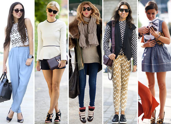 Print on print, cap-toe shoes, and peplum are only a few of the biggest trends of 2012. What was your favorite?