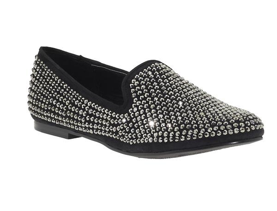 If you're the more casual type, add a bit of sparkle like these Steve Madden Conncord Oxfords ($100) to your skinnies and a standout top for effortless NYE style.