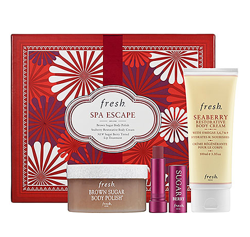 There's no way you can hit a sour note with this Fresh Spa Escape set ($50). First of all, we all need to unwind a little, no? Second, the Sugar tinted balm alone is enough to convince us of its stylish appeal. You'll want to snag one for you and one for your friend, and keep that balm handy — it's the perfect color for Fashion Month.