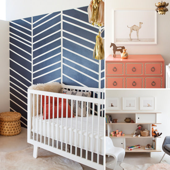 A Modern Nursery With a Spotlight on Baby-Animal Prints