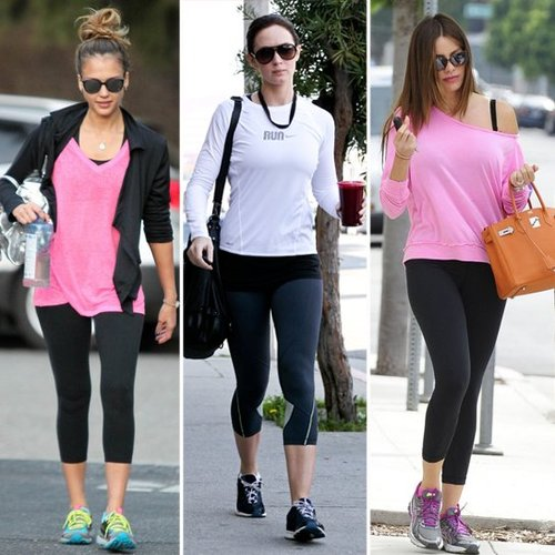 The Fittest Female Celebrities | 2012