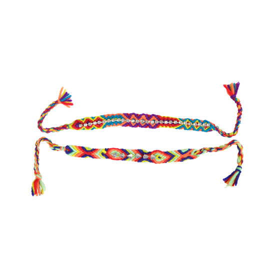 Friendship bracelets, $19.95 for set of two, Gathering Eye at General Pants