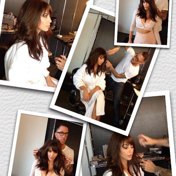 Kim Kardashian's Fringe, Miss Universe 2012 and More