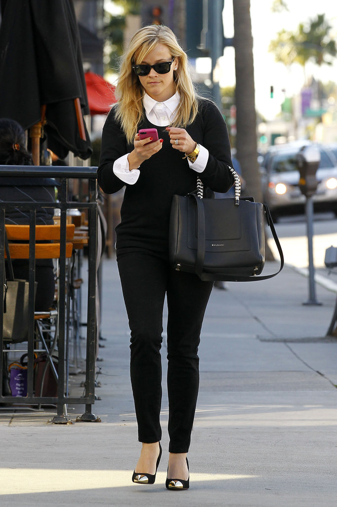 Reese Witherspoon dialed on her phone.