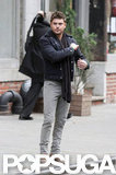 Zac Efron filmed Are We Officially Dating? in NYC.