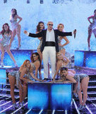 Pitbull performed during the finale.