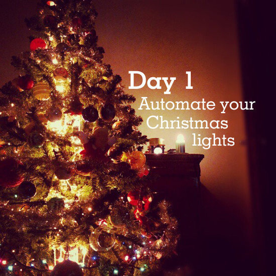 Automate your Christmas lights