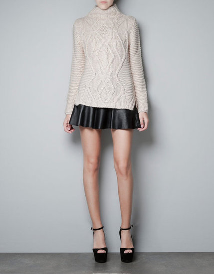 Zara Turtleneck Knitted Sweater ($50, originally $80)