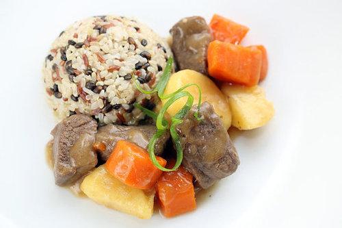 Grandma's Ginger Beef Stew Recipe