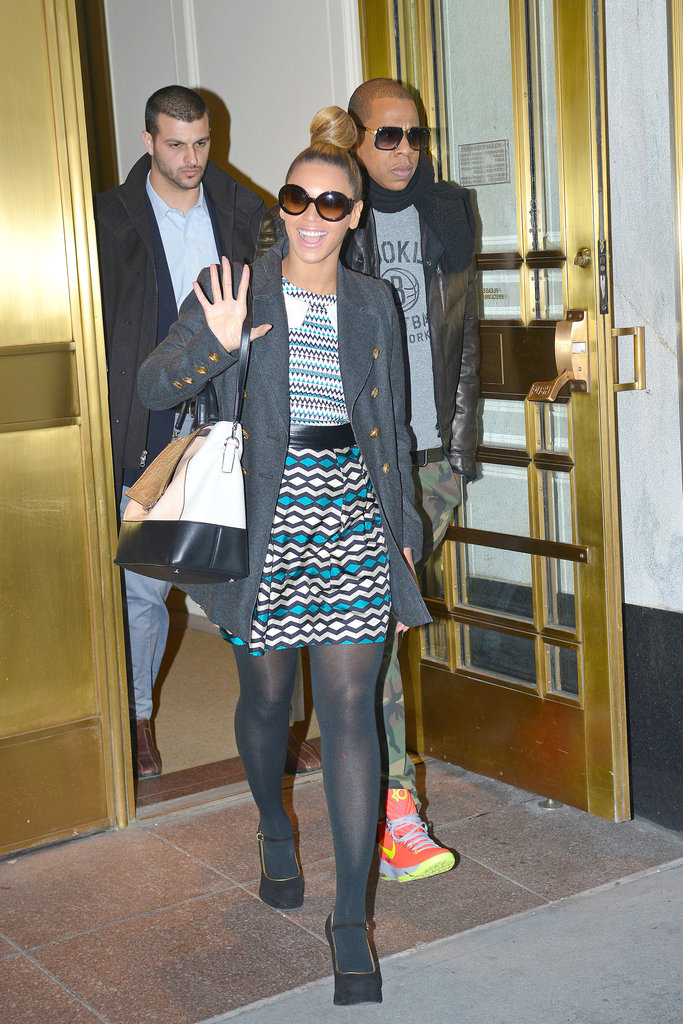 Beyoncé and Jay-Z Hit Bergdorf For Last-Minute Christmas Shopping