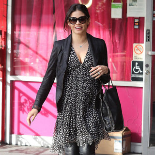 Jenna Dewan Wearing Over-the-Knee Boots