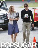 Ned Rocknroll visited Kate Winslet on the Massachusetts set of Labor Day during the Summer of 2012.