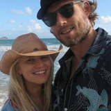 Jessica Simpson shared a photo from the beach.