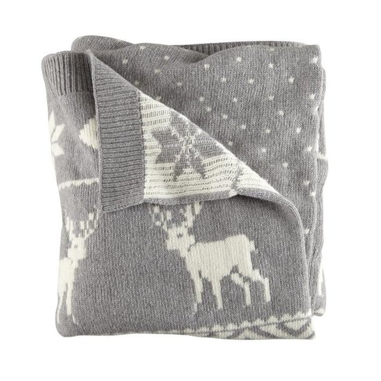 The Land of Nod Moose Blanket