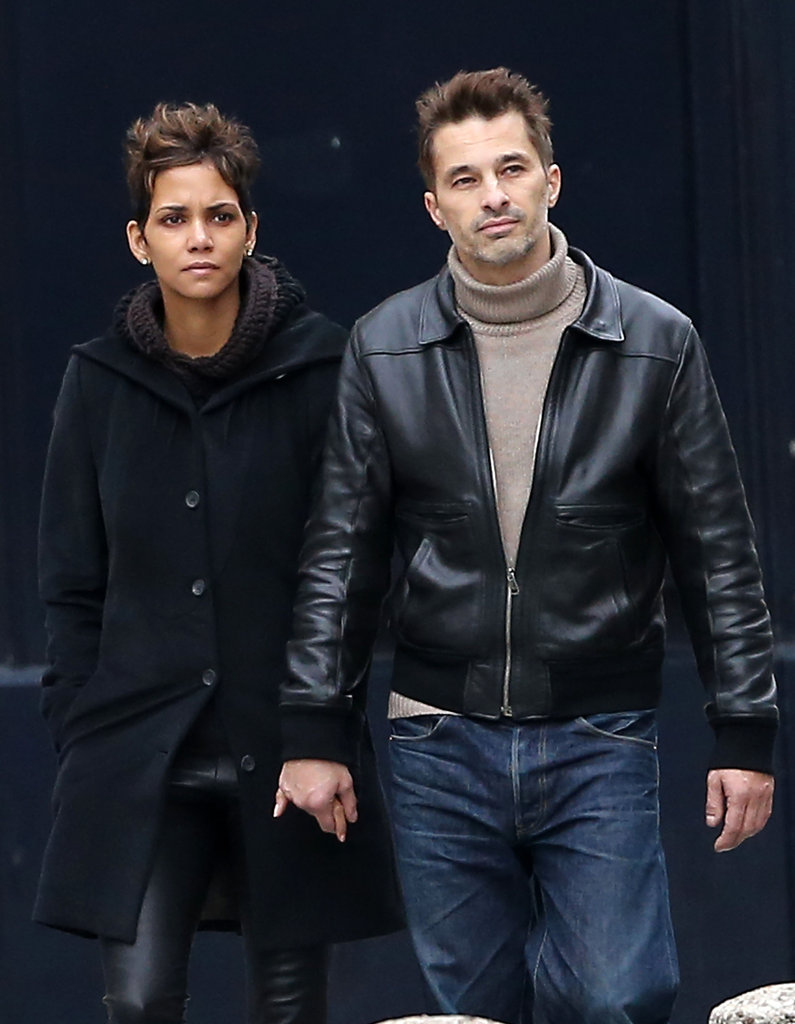 Halle Berry and Olivier Martinez Take a Romantic Holiday Trip to Paris