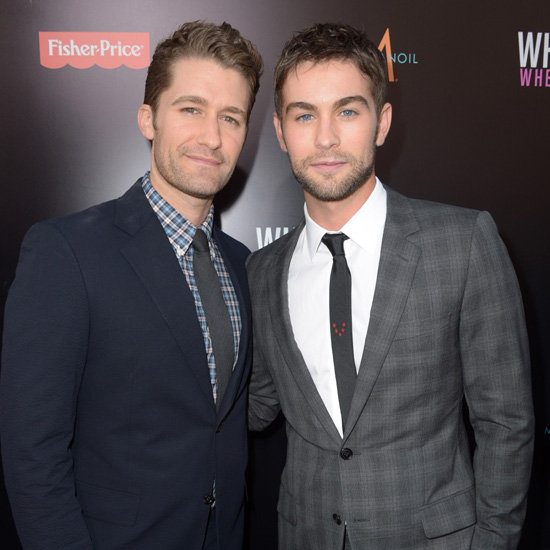 Chace Crawford, Matthew Morrison Spending NYE in Sydney