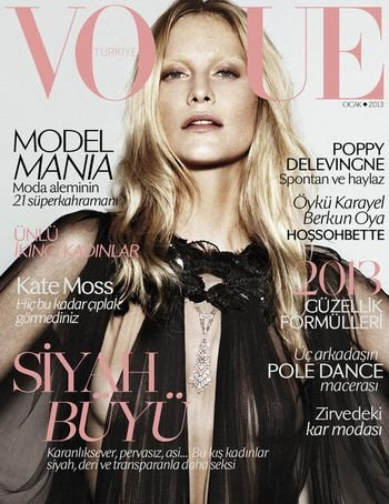 Vogue Turkey January 2013