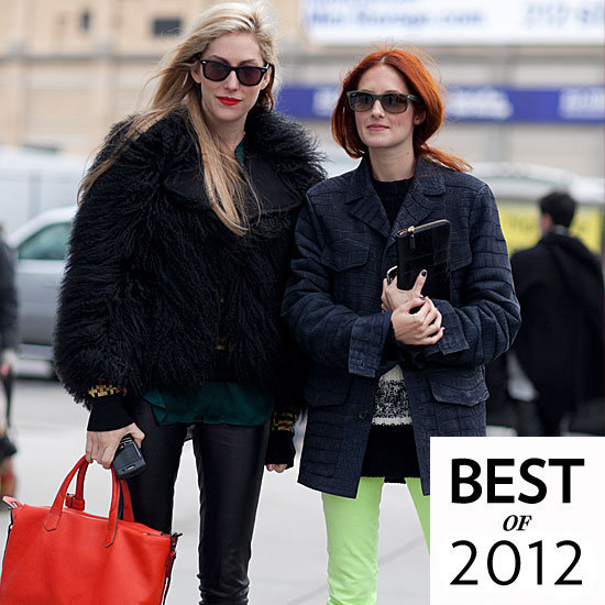 The Best Street-Style Snaps in 2012