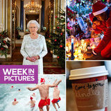 The Queen Says Happy Holidays in 3D, Starbucks Sends a Message, and the Spirit of Giving Spreads