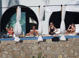 Jennifer Aniston Fits in Bikini Time With Emily Blunt and Their Boys