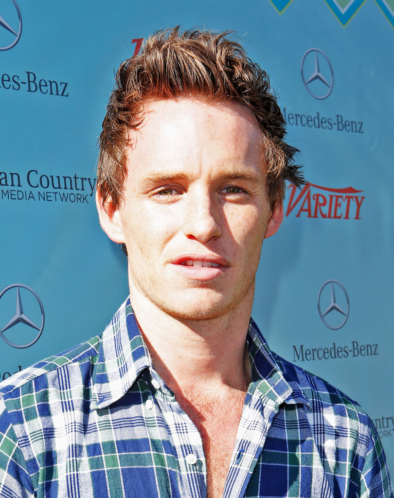 Eddie Redmayne attended the brunch.