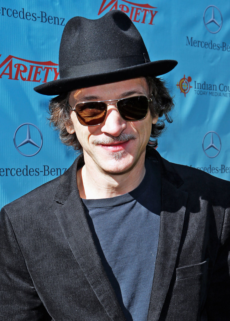 John Hawkes stopped by the brunch.