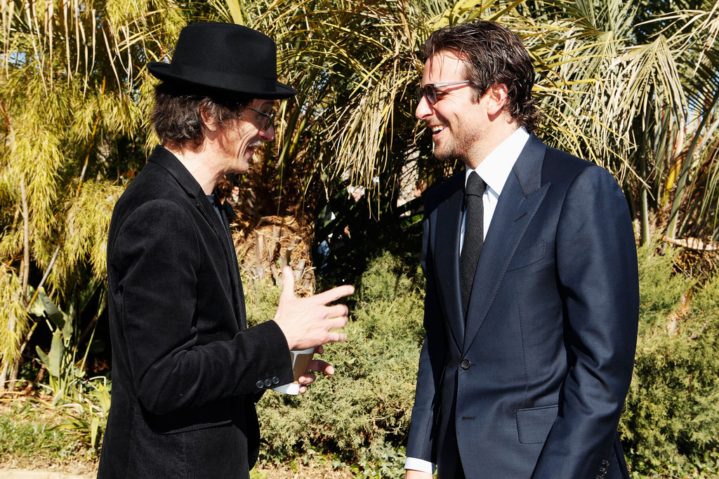 Bradley Cooper chatted up John Hawkes.