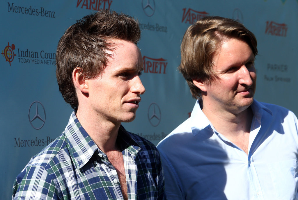 Tom Hooper and Eddie Redmayne made the film fest rounds.
