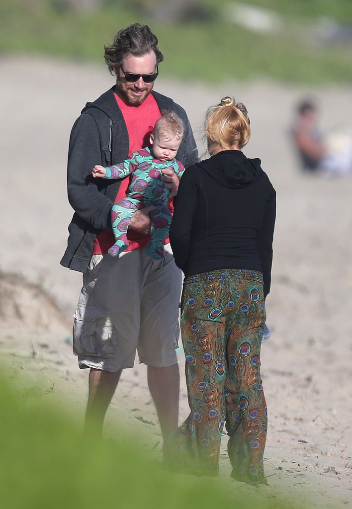 Jessica Simpson was on vacation with Eric Johnson and their daughter, Maxwell Johnson.