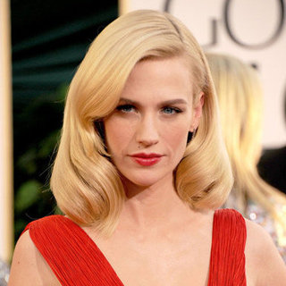 January Jones' Birthday: See Her Prettiest Hair & Beauty